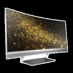 Ecran HP ENVY 34''Incurvé 21:9 WQHD (3440 x1440 à 60 Hz) 300 cd/m² 6ms 2xHDMI DisplayPort Plug&PlayAnti Reflets Noir/Argent W3T65AA