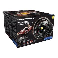 THRUSTMASTER T300 Ferrari GTE PS3 PS4 PC volant avec moteur Brushless retour de force 1080° +Pedalier metal entierement ajustable