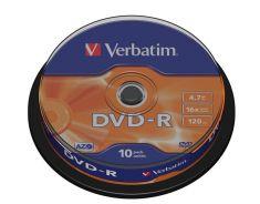 DVD-R - 4,7 Gb - Spindle de 10
