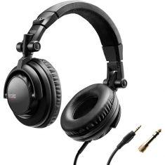 Hercules Casque HDP DJ45 Haute performance 20Hz Confort,Isolation Puissance 95db à 1mW ecouteurs rotatifs 60ohms Cable etirable 2M