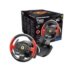 THRUSTMASTER T150 FERRARI WHEEL rs ps4/ps3 compatible PC volant force feedback 1080 roue 28 cm/large pedalier inclus