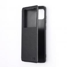 Etui de protection WE noir pour smartphone XIAOMI REDMI NOTE 10 Résistant aux chocs et chûtes. Accès caméra et multi-position.