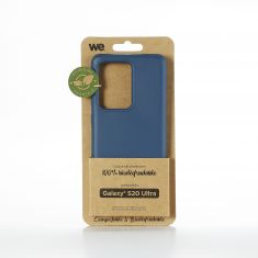 WE Coque Bio SAMSUNG GALAXY S20 Ultra - Eco-Friendly Biodégradable et Compostable - Housse Etui Antichoc, Compatible avec L'induction, Ultra Protection Bumper, Anti Rayure - Bleu