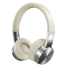 Lenovo Casque Yoga ANC Beige ss fil Suppression Active du bruit 800mAh Bluetooth 5.0 10m Cordon USB 1.3m Étui de transport GXD0U47643