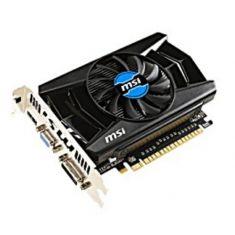 VGAN MSI GT 750Ti-2GD5 2GO DDR5 HDMI VGA DVI overclocking-128 Bit