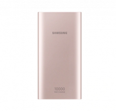 Batterie Externe 10 000mAh RoseGold Charge rapide IN/OUT Double port (micro USB) Samsung EB-P1100BPEGWW