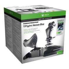THRUSTMASTER T.Flight Hotas One Plug & Play licence officielle MicrosoftXBOXONE et Windows5 axes + 14 boutons d'act
