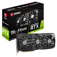 VGAN MSI GeForce RTX2070 TRI FROZR 1620 MHz / 14Gbps GDDR6 8Go PCI-E 3.0 x16 3xDP/HDMI Predator 3xVentilateurs VR Ready G-SYNC