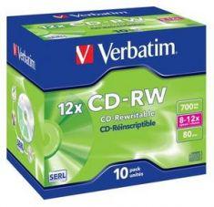 CDR-W - 700 Mb - Pack de 10