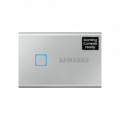 SSD EXT SAMSUNG T7 Touch 500G  Silver USB 3.2 Gen 2 / MU-PC500S/WW