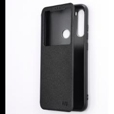 Etui de protection WE noir pour smartphone XIAOMI REDMI NOTE 8T Résistant aux chocs et chûtes. Accès caméra et multi-position.