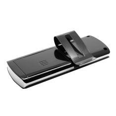 Kit main-libre Bluetooth noir pour rendre la voiture Bluetooth autonomie en fonctionnement: 6h autonomie en veille: 300h