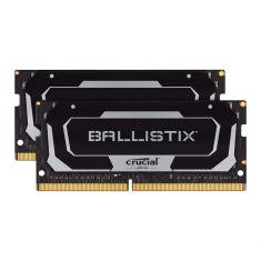 MEMC CRUCIAL BALLISTIX 32GB Kit (2x16GB) DDR4 2400MT/s CL16 SODIMM 260pin Black BL2K16G26C16S4B