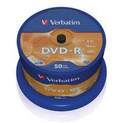 DVD-R - 4,7 Gb - Spindle de 50
