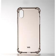WE Coque de protection NOIRE pour smartphone Apple iPhone X/XS Fabriqué en TPU. Ultra résistant Apparence du téléphone conservée.