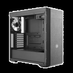 Boitier Cooler Master ATX Gamer MasterBox MB600L with ODD gunmetal latéral verre trempe 7 slots d'extension MCB-B600L-KA5N-S02