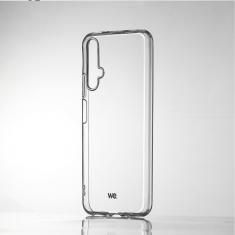 WE Coque de protection transparente pour smartphone HONOR 20 Fabriqué en TPU. Ultra résistant Apparence du téléphone conservée.