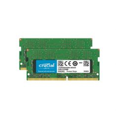 MEMC CRUCIAL SODIMM 32GB Kit(16Gx2) DDR4 2666 MT/s (PC4-21300) CL19 DR x8 260pin CT2K16G4SFD8266
