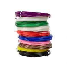 Filament PLA pour stylo 3D Noir 10 mètres de longueur Dimension du filament : 1.75mm