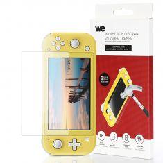 Protection d'écran Nintendo Switch Lite en verre trempé 9H - anti-rayures Transparent - avec kit de nettoyage