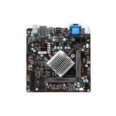 CM MSI J1900I Mini ITX pr Celeron DDR3 1333 MHz - 1066 MHz Fast Boot SATA-300 1xUSB 3.0 2xUSB 2.0 1xVGA Live Update 5 M-Flash  J1900I