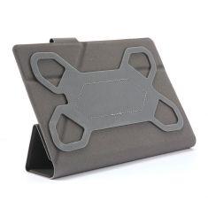 H-750 TPU Vert Housse universelle pour tablettes 7'' Toucher doux Attaches en silicone ajustables Languette magnétique