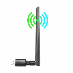 CLE WIFI 1200Mbps DUAL BAND USB 3.0 300Mb/s en 2.4G, 867Mb/s en 5G antenne detachable