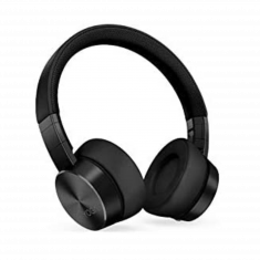 Lenovo Casque Yoga ANC Noir ss fil Suppression Active du bruit 800mAh Bluetooth 5.0 10m Cordon USB 1.3m Étui de transport GXD1A39963