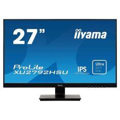 "Moniteur IIYAMA 27"" dalle IPS 4ms ULTRA MINCE 1920x1080 VGA HDMI DisplayPort Haut-parleurs USB-HUB XU2792HSU-B1"
