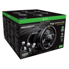 THRUSTMASTER TX Racing Wheel Leather edition volant + pédalier