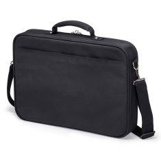 """DICOTA Saccoche pour PC 15""""-17.3"""" Légère Noir protection polyester cadre métal et plusieurs comparti ments MULTI BASE D30447-V1"""