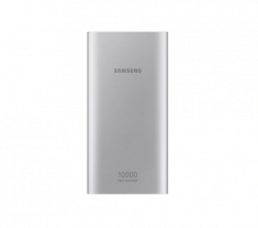Batterie Externe 10 000mAh Silver Charge rapide IN/OUT Double port (micro USB) Samsung EB-P1100BSEGWW USB)