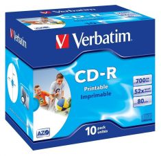 CD-R - 700 Mb - Pack de 10
