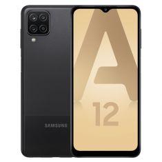 Smartphone Galaxy A12 Noir 64Go Android 10 OctaCore2.3GHz +1.8 MediaTek6765 batterie 5000 mAh Ecran 6.5'' HD+ DAS