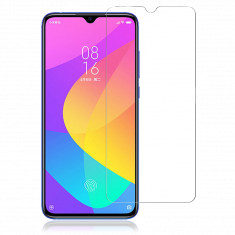 Verre Trempé pour Xiaomi MI 9 LITE 9L (6,39'') - Film Protection écran Anti-Rayures - Anti-Bulles d'air Ultra Résistant - Dureté 9H Glass
