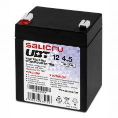 SALICRU BATTERIE UBT 12V/4,5Ah Technologie AGM Faible autodécharge 68 A (5s) Garantie 5 ans 013BS000006