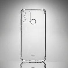 WE Coque de protection transparente pour HONOR 9A Fabriqué en TPU. Ultra résistant Apparence du téléphone conservée.