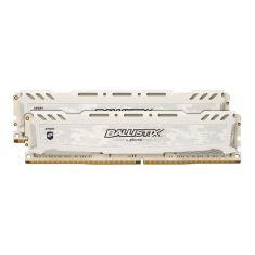 MEMC BALLISTIX SportLT 8GB (2x4G) DDR4 2666 MT/s(PC4-21300) CL16 SRx8 DIMM 288pin BLANC BLS2K4G4D26BFSC