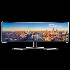 ECRAN 49'' SAMSUNG LC49J890DKR DFHD VA - 5 ms - 300cd/m² 3000:1 HDMI Display Port USB144Hz Incurvé - NOIR