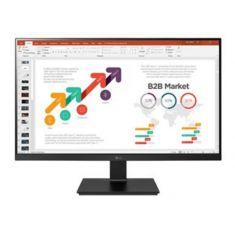 """ECRAN LG 24""""  Noir IPS FHD 16:9 5ms 1920x1200 250cd/m2 HDMI USB Type C. Design à 3 côtés sans bords. Pivot. 24BL650C-B"""