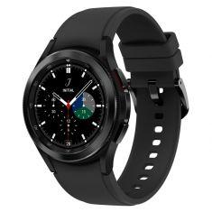 SAMSUNG Galaxy Watch4 Classic 42M 4G Noir Acier Bracelet silicone OS Google Electro cardiogramme pression sanguine Design urbain SM-R885FZKAXEF DAS 1,131 W/kg