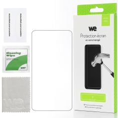 WE Verre Trempé pour [REALME 7] -  Film Protection Ecran Anti-Rayures - Anti-Bulles d'Air - Ultra Résistant - Dureté 9H Glass